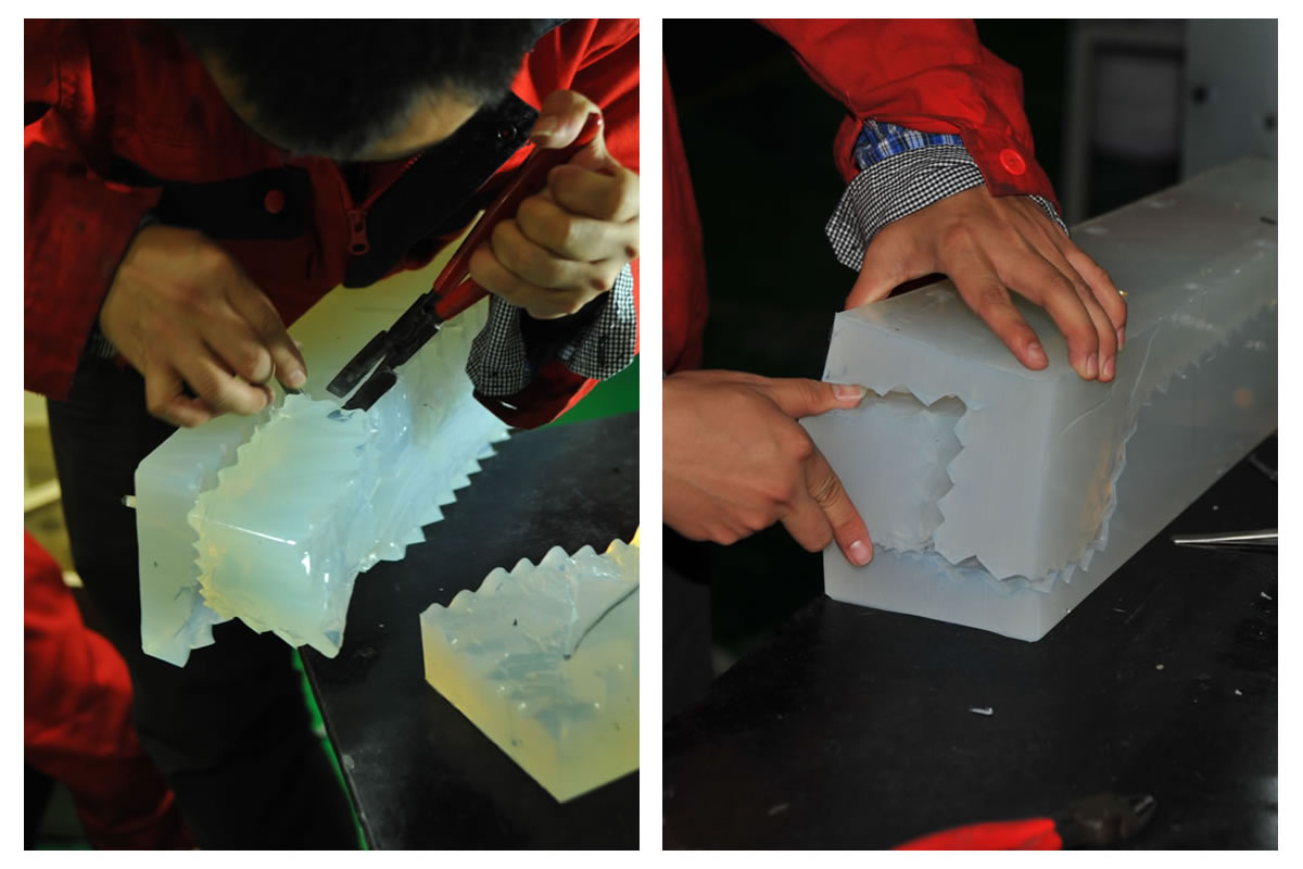 Pic6-How to make a silicone rubber mould?